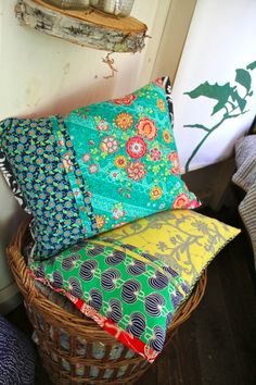 Amy Butler pillows