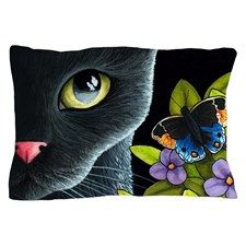 Cat 557 Pillow Case for