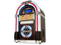 Ricatech RR790 Jukeboxi (CD/MP3, USB/SD, Radio) tallentava - Konerauta.fi Usb, Jukebox, Iphone, Retro, Home Decor, Decoration Home, Interior Design, Home Interior Design, Mid Century