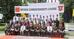 DEFENCE CORRESPONDENTS COURSE - 2016   Defence Correspondents Course is conducted annually under the aegis of Directorate of Public Relations Ministry of Defence to give exposure to selected Journalists from Print & Electronic Media Photo Journalists and Governments Public Relation Officers to enable them on fair and objective reporting about matters relating to Defence Services. A total of 36 correspondents under two Public Relation Officers are undergoing the Army leg of the Course being…
