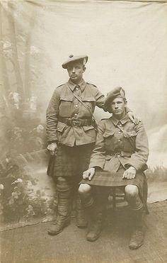 "bantarleton: ""Argyll and Sutherland Highlanders during the First World War. Military Photos, Military Art, Military History, Military Uniforms, Military Fashion, British Soldier, British Army, World War One, First World"