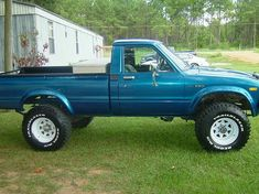 """Toyota Long Bed 4x4 Pick Up 
