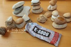 Feng Shui Rock Towers, I have that glue and now I want to make a crazy rock tower.