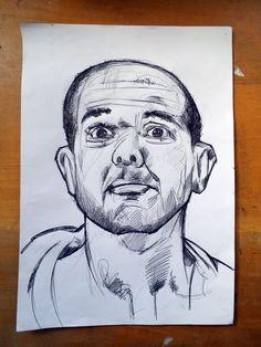 Rascunhos-Sketches | Jul 2015 | Bic+lápis+papel