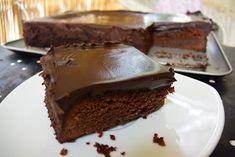 ΜΑΓΕΙΡΙΚΗ ΚΑΙ ΣΥΝΤΑΓΕΣ: Σοκολατόπιτα Θεική!!! Cookbook Recipes, Cake Recipes, Cooking Recipes, Chocolate Sweets, Sweet Desserts, Greek Recipes, Cheesecake, Food And Drink, Cookies