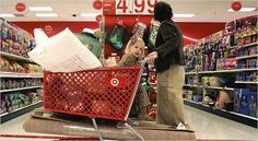 EVERY Target shopper NEEDS to know this: If the price ends in 8, it will be marked down again. If it ends in a 4, it's the lowest it will be. Target's mark down schedule. – MONDAY: Kids' Clothing, Stationery (office supplies, gift wrap), Electronics. TUESDAY: Women's Clothing and Domestics. WEDNESDAY: Men's Clothing, Toys, Health and Beauty. THURSDAY: Lingerie, Shoes, Housewares. FRIDAY: cosmetics