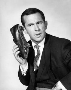 The Shoe Phone (1965) From TV Series 'Get Smart'. The shoe converted into a gun by dialing the number 117...