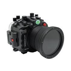 Sony A7R IV 40M/130FT Underwater camera housing (Standard port) Zoom r – seafrogs Underwater Camera Housing, Underwater House, Sony, Vacuum Pump, Zeiss