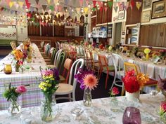 Vintage eclectic styling at the Alphington Bowls Club