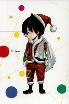 All I want for Christmas is E.N.D haha (Fairy Tail volume 50 postcard)