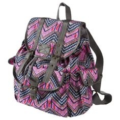Mossimo Supply Co. Large Zig Zag Backpack - Pink  @Jennifer Johnson-Hmmm maybe for school???