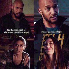 "#AgentsofSHIELD 3x11 ""Bouncing Back"" - Mack and Elena"