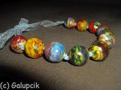 Brăţară – Magia Planetelor (25 LEI la galupcik.breslo.ro) Beaded Bracelets, Decor Ideas, Jewelry, Magick, Jewlery, Jewerly, Pearl Bracelets, Schmuck, Jewels