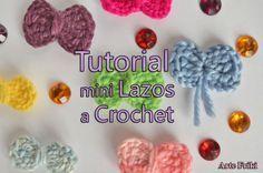 tutorial lazo crochet