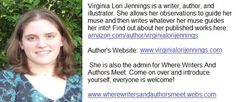 Create an author bio jpeg with your links to keep from having to retype the same things into your blogs every time.