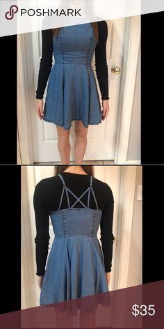 311f36fb0a6 Abercrombie   Fitch denim dress