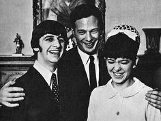 RINGO STARR married his long-time girlfriend MAUREEN COX twenty-two days after he proposed.  The ceremony took place at Cazton Hall Register Office;  February 11, 1965.