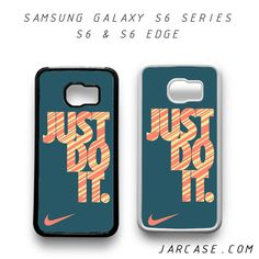 Awesome nike just do it Phone case for samsung galaxy S6 & S6 EDGE