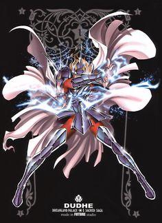 Siegfried de Dubhe. Asgard. Sacred Saga. Saint Seiya Studio Future.