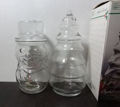 Vintage Clear Glass Anchor Hocking by DaysLongGoneSalvage on Etsy
