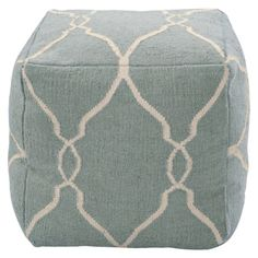 Decorative Ropem Pouf Papyrus, Slate Blue.Opens in a new window