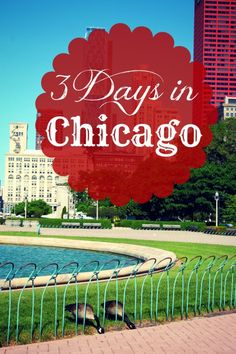 Part one of our 3 days in Chicago using our Chicago GO Pass