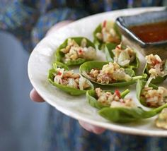 Thai spinach bites