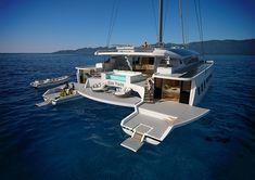 Catamaran Design, Power Catamaran, Sailing Catamaran, Catamaran For Sale, Yacht Design, Yacht For Sale, Boats For Sale, Small Yachts, Sailboat Living