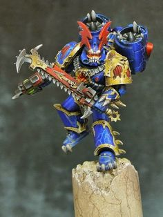Description: Night Lords Night Raptor, Painted by Thor Source: http://ift.tt/1K7BhSG on Painted 40k Date: August 20, 2015 at 08:17AM