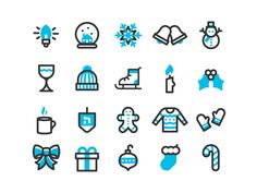 A variation of the winter holiday reply icon set we released at the beginning of the month. ICON't believe it's almost Gift Day. Holiday Icon, Best Icons, Tattoo Illustration, Line Icon, Grafik Design, Gifts For Teens, Winter Holiday, Christmas Holiday, Best Friend Gifts