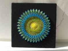 My fourteenth string art piece