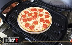 Weber Q-1200 Black Line газовый гриль барбекю Grill Gas, Weber Grill, Pepperoni, Grilling, Pizza, Food, Crickets, Meals, Grill Party