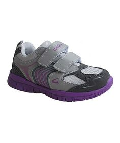 Loving this Gray & Purple Energy Sneaker - Kids on #zulily! #zulilyfinds