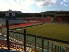 national stadium with Mdina in distance by Barbara Mc Ginlay - Photo Challenge Week 4