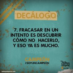 # 7   Decálogo Campeón