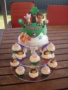 Dora Cake Ideas @Carla Gentry Gentry Riesterer-Brunette