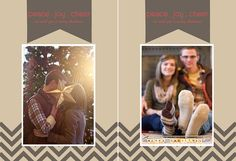 Etre Photography | Utah wedding and portrait photography: couples christmas card ideas.