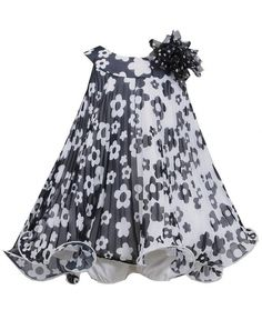 High Quality Black And White Baby Dress