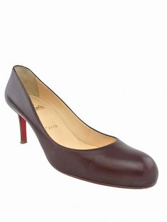 7cca9d4b07ab Christian Louboutin Leather Simple Pumps Size 9 39.5 - Consigned Designs