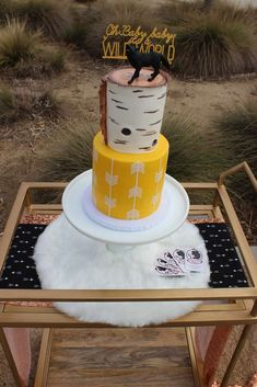 Its a wild world baby shower | CatchMyParty.com