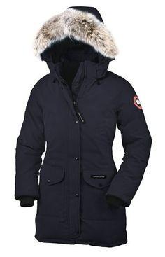 My heavy winter coat - Canada Goose Trillium Parka in Navy <3