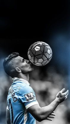 Sergio kun Aguero - iPhone wallpaper