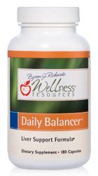 Daily Balancer is a top liver support and detoxification supplement. A powerful blend of resveratrol, chlorella, milk thistle, NAC and lipoic acid, Daily Balancer boosts liver health, kidney health, and gall bladder function!
