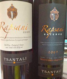 Rapsani wines | spaswinefood