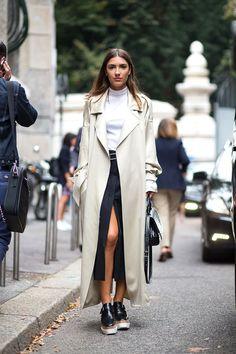 Ciao Bellas! Milan Street Style. Stella McCartney shoes.