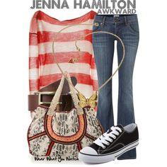Inspired by Ashley Rickards as Jenna Hamilton on Awkward.