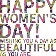 Happy Women's Day! #diadelamujer #womensday