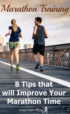 Are you ready for marathon training? Do you want to get faster? Here are 8 tips…
