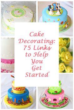 Cake Decorating Where To Start : New to cake decorating but not sure where to start? We ...