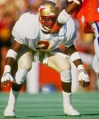 """""""I wear number 2 to let the guy behind me know what place he's in."""" -Deion Sanders"""